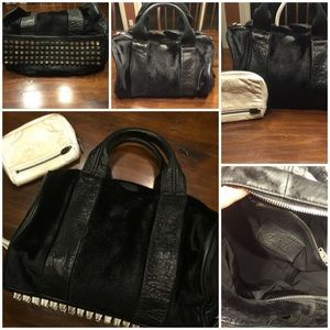 Alexander Wang Rocco Bag in Pony Hair